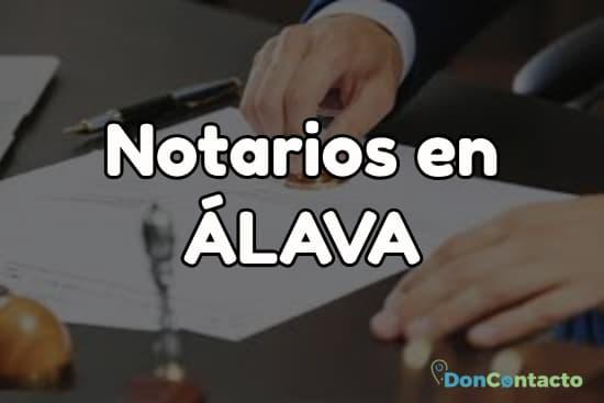 Notarios en Álava