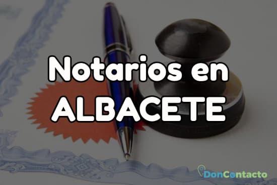 Notarios en Albacete