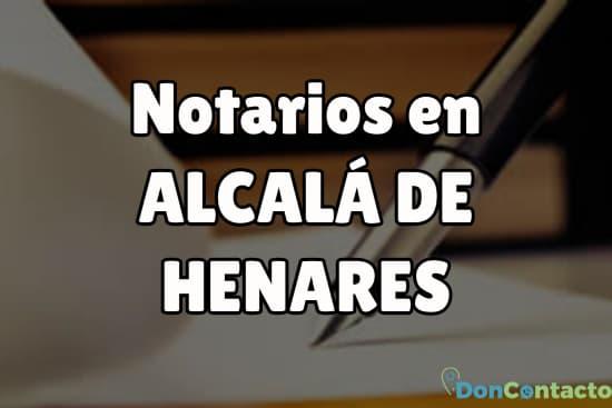 Notarios en Alcalá de Henares