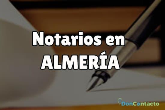 Notarios en Almería