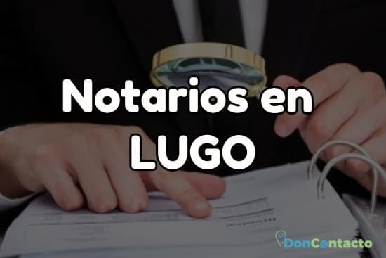 Notarios en Lugo