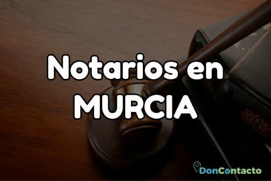 Notarios en Murcia