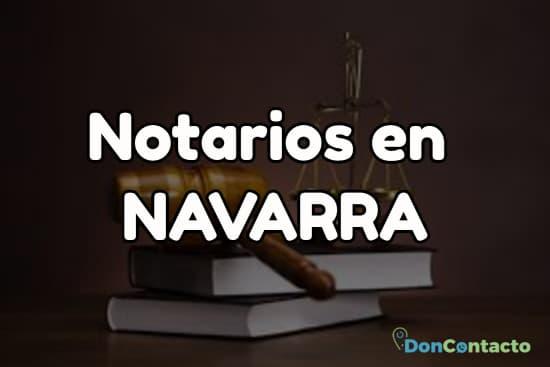Notarios en Navarra