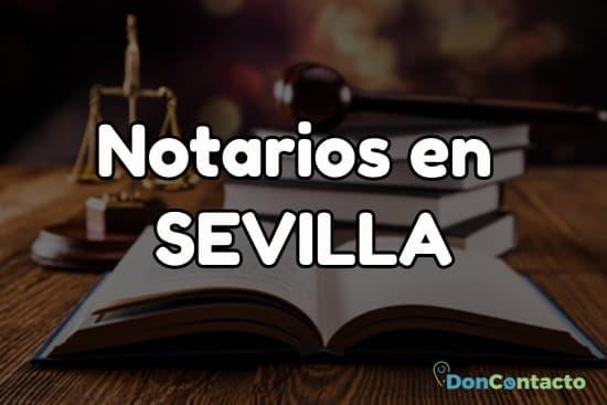 Notarios en Sevilla