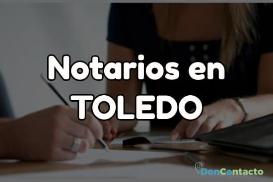 Notarios en Toledo