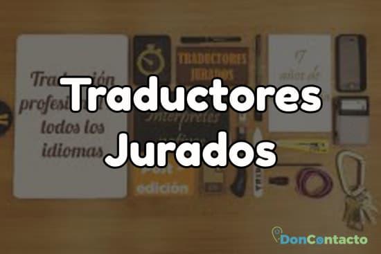Traductores Jurados