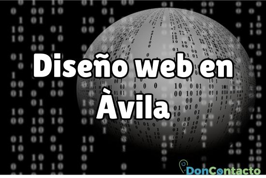 Diseño web en Ávila