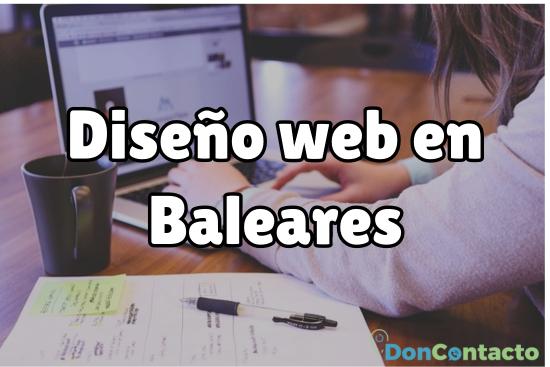 Diseño web en Baleares