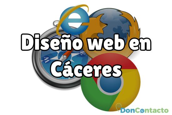 Diseño web en Cáceres