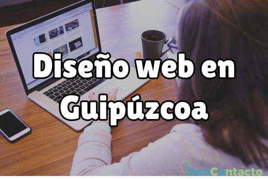 Diseño web en Guipúzcoa