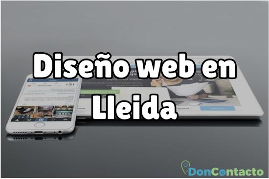 Diseño web en Lleida