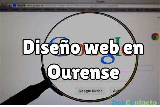 Diseño web en Ourense