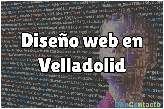 Diseño web en Velladolid