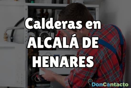 Calderas en Alcalá de Henares