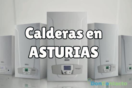 Calderas en Asturias