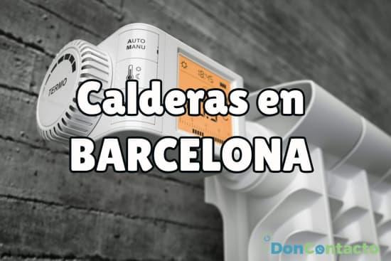 Calderas en Barcelona