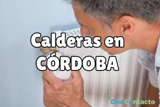 Calderas en Córdoba