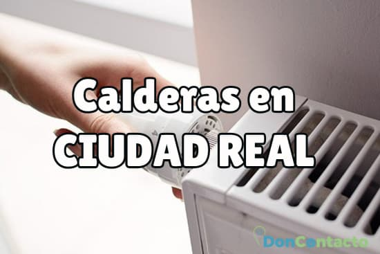 Calderas en Ciudad Real