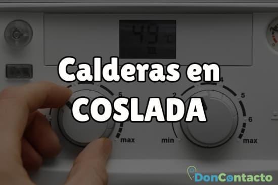 Calderas en Coslada