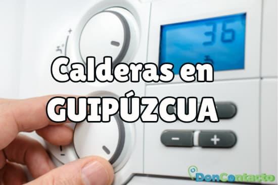 Calderas en Guipúzcua
