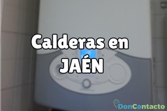 Calderas en Jaén