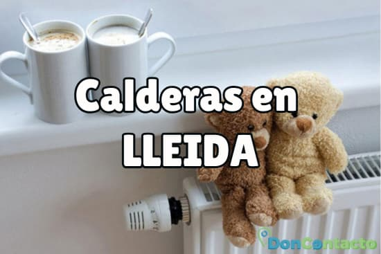 Calderas en LLeida