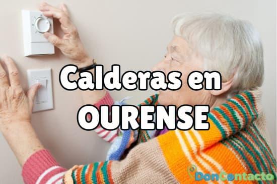Calderas en Ourense