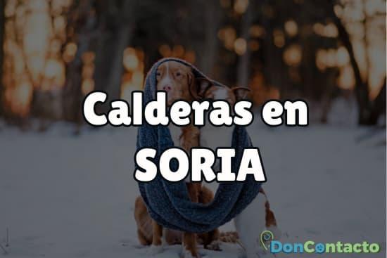 Calderas en Soria