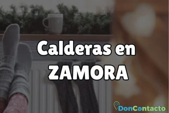 Calderas en Zamora