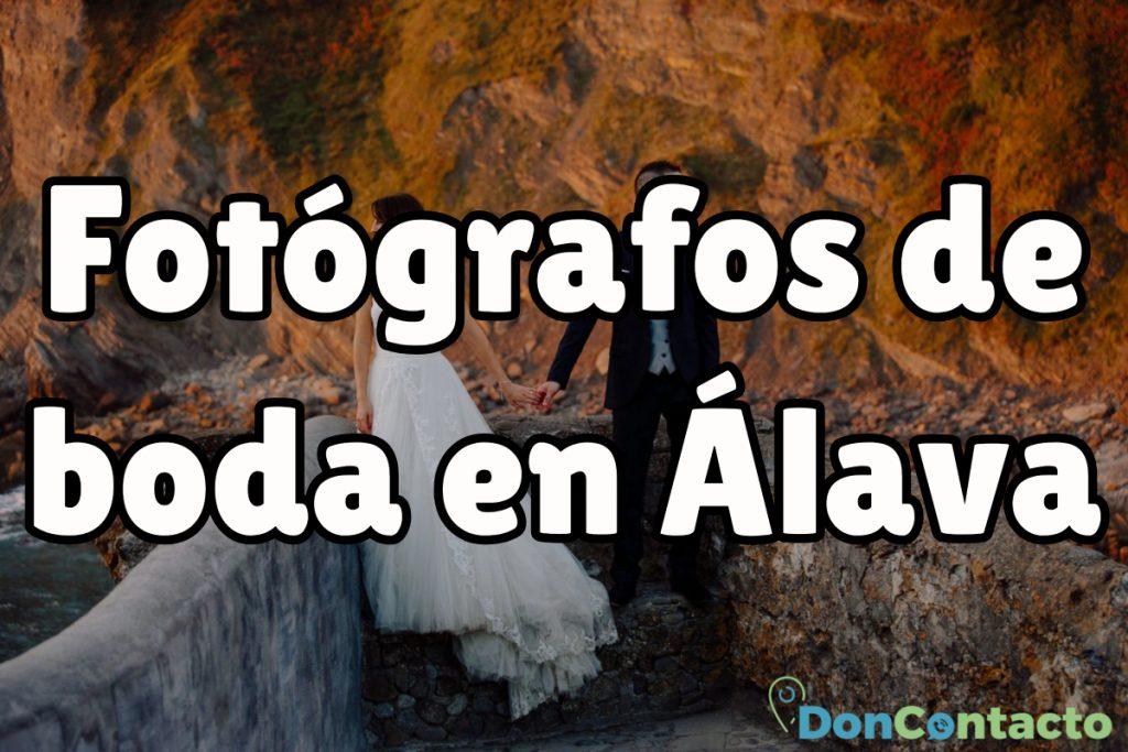 Fotógrafos de boda en Álava