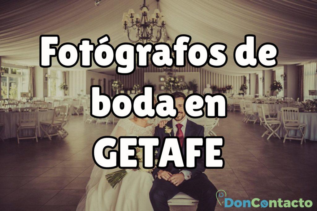 Fotógrafos de boda en Getafe