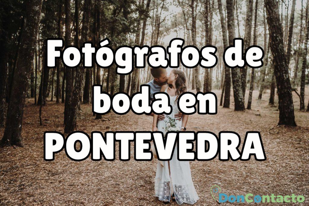 Fotógrafos de boda pontevedra