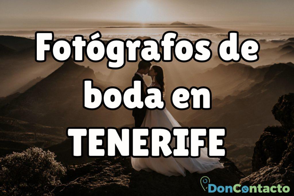 fotógrafos nupciales de Santa Cruz de Tenerife
