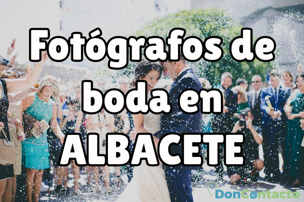 Fotógrafos de boda en Albacete