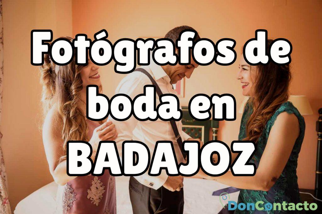 Fotógrafos de boda baratos en Badajoz