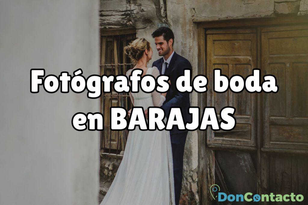 Fotógrafos de boda en Barajas