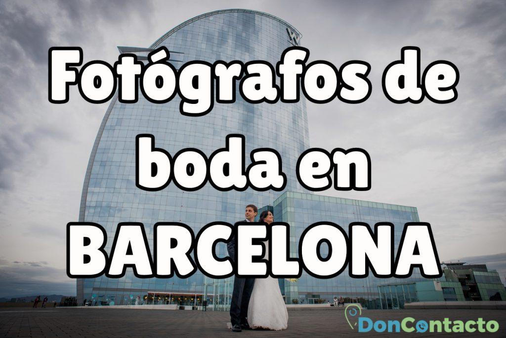 Fotógrafos de boda en Barcelona