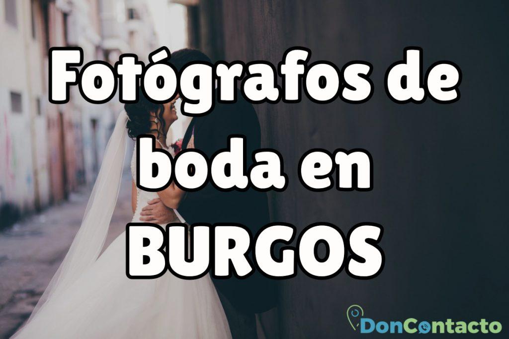Fotógrafos de boda baratos en Burgos