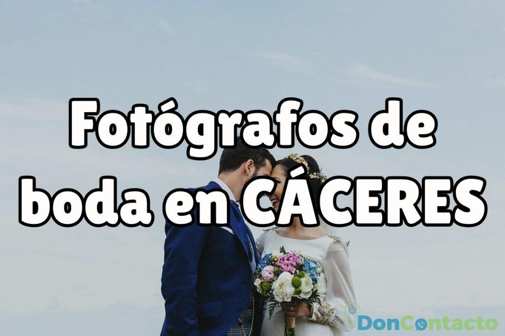 Fotógrafos de boda baratos en Cáceres
