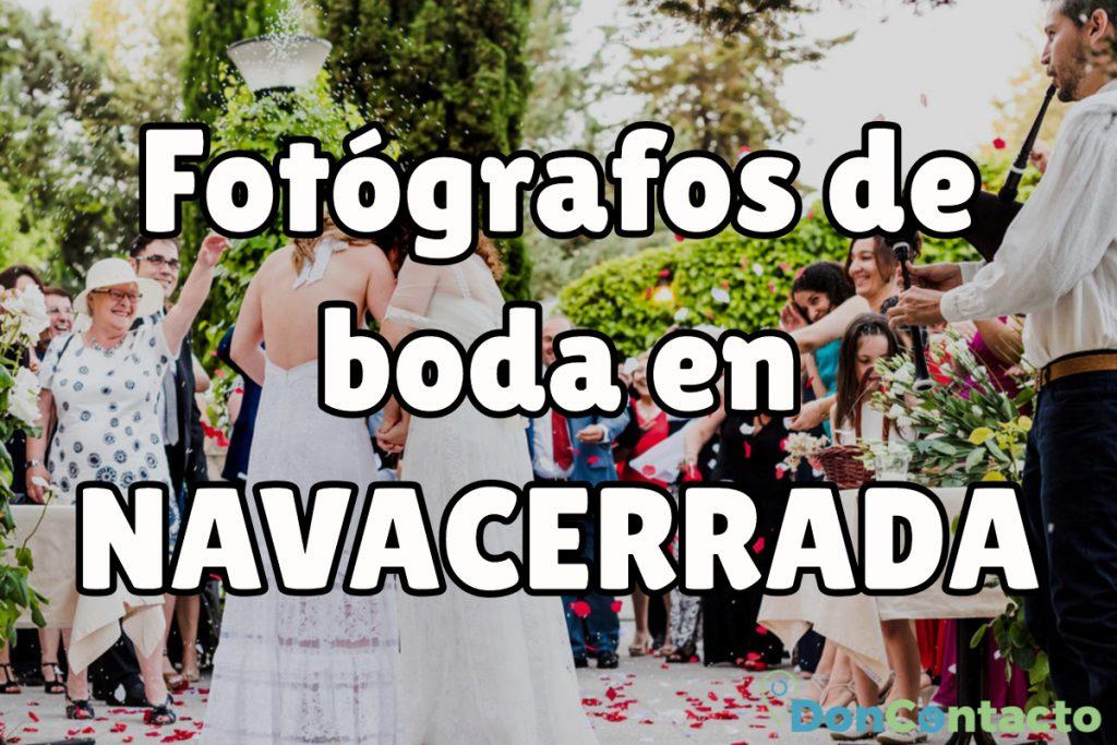 Fotógrafos de boda en Navacerrada