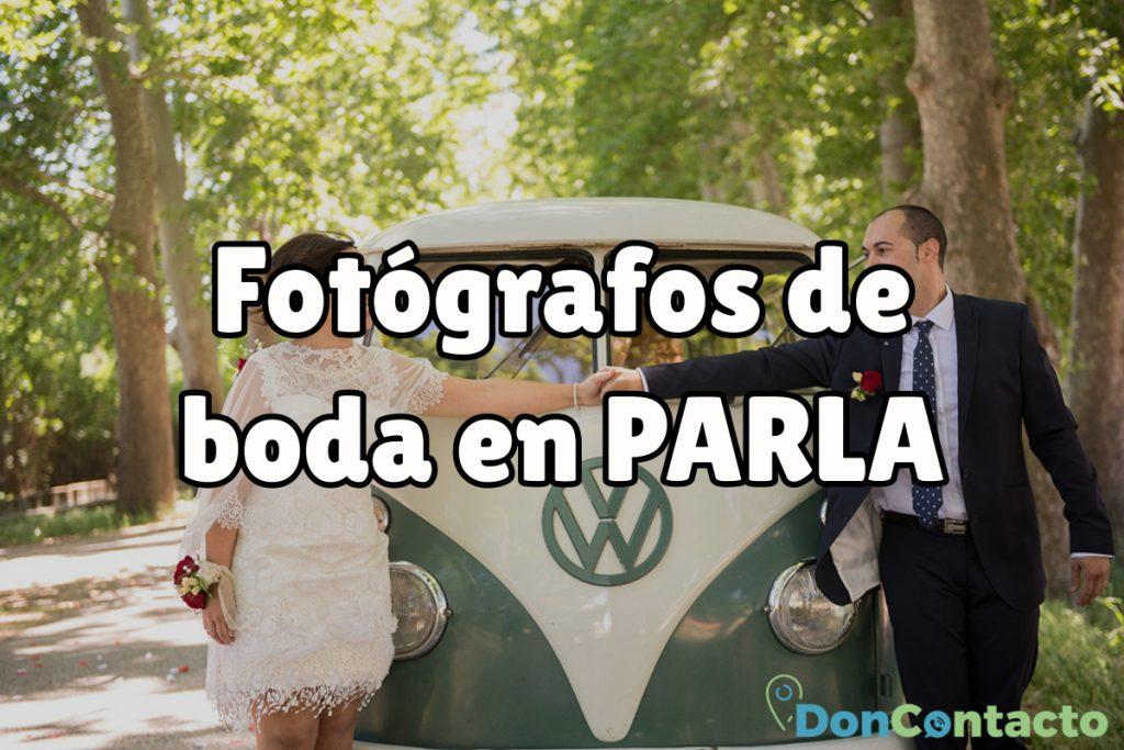 Fotógrafos de boda en Parla