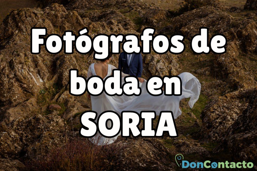 Fotógrafos de boda en Soria