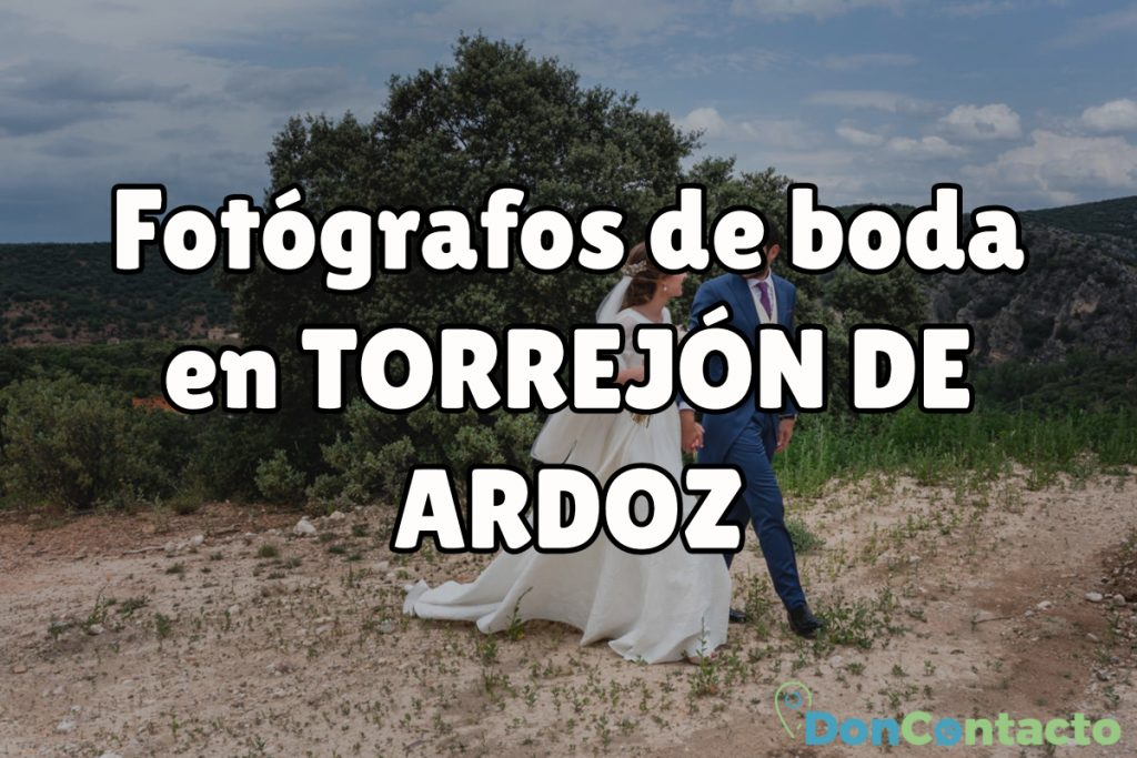Fotógrafos de boda en Torrejón