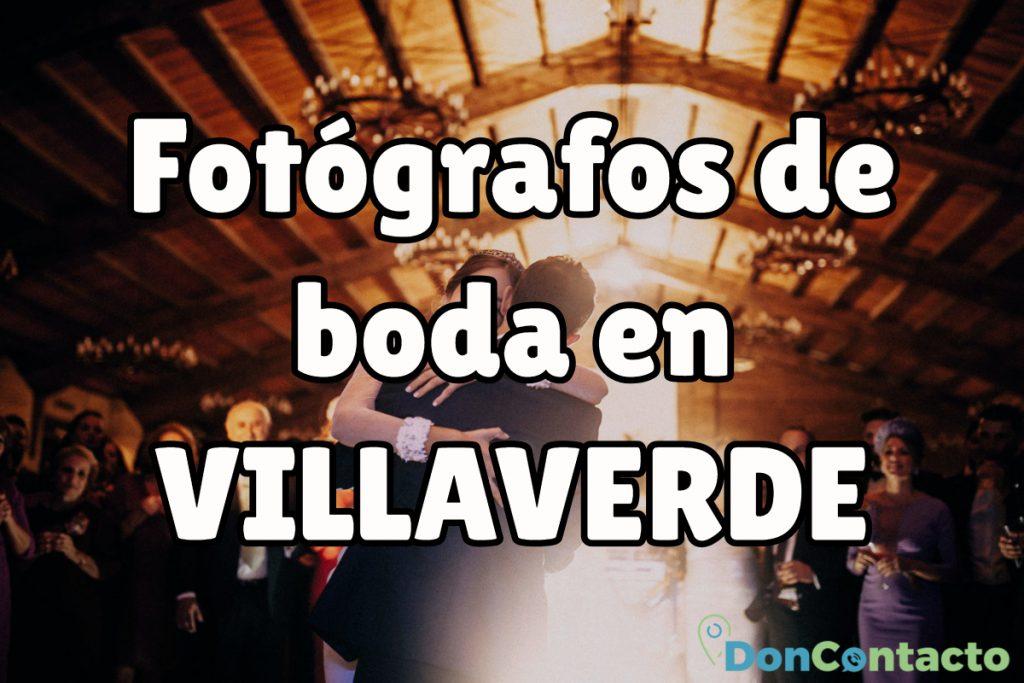 Fotógrafos de boda en Villaverde