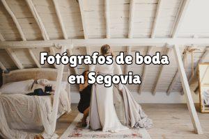 Fotografía de boda en Segovia