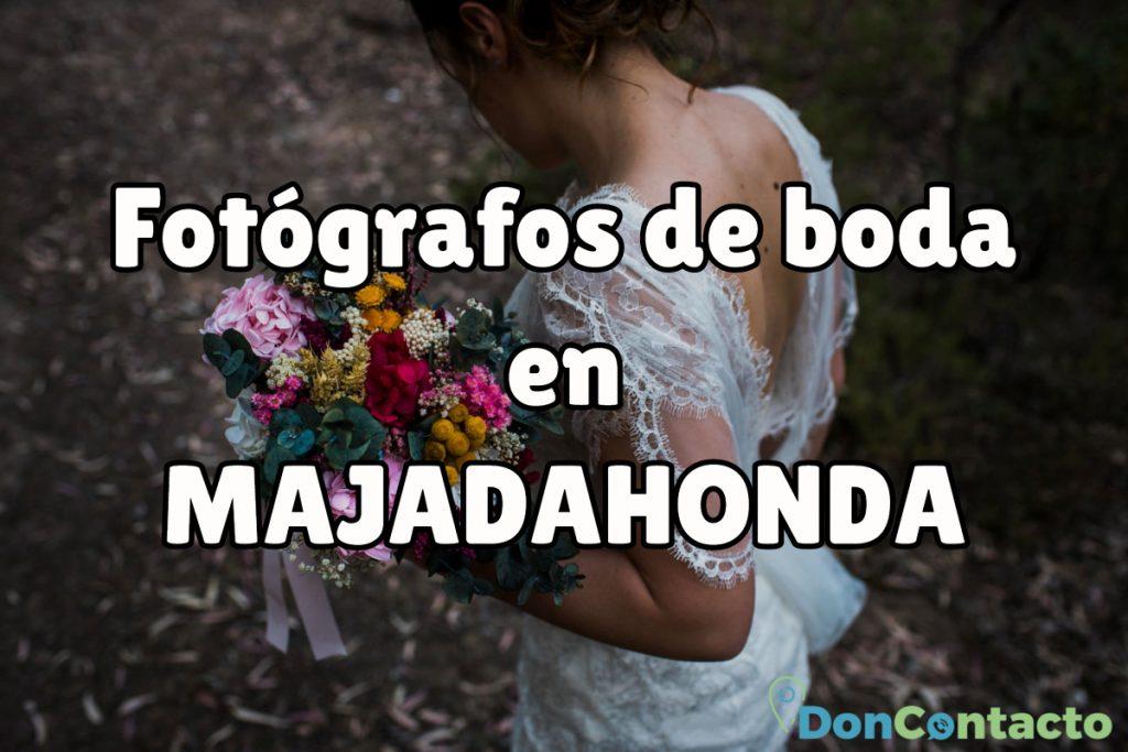 Fotógrafos de boda en Majadahonda