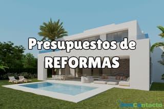 presupuestos reformas
