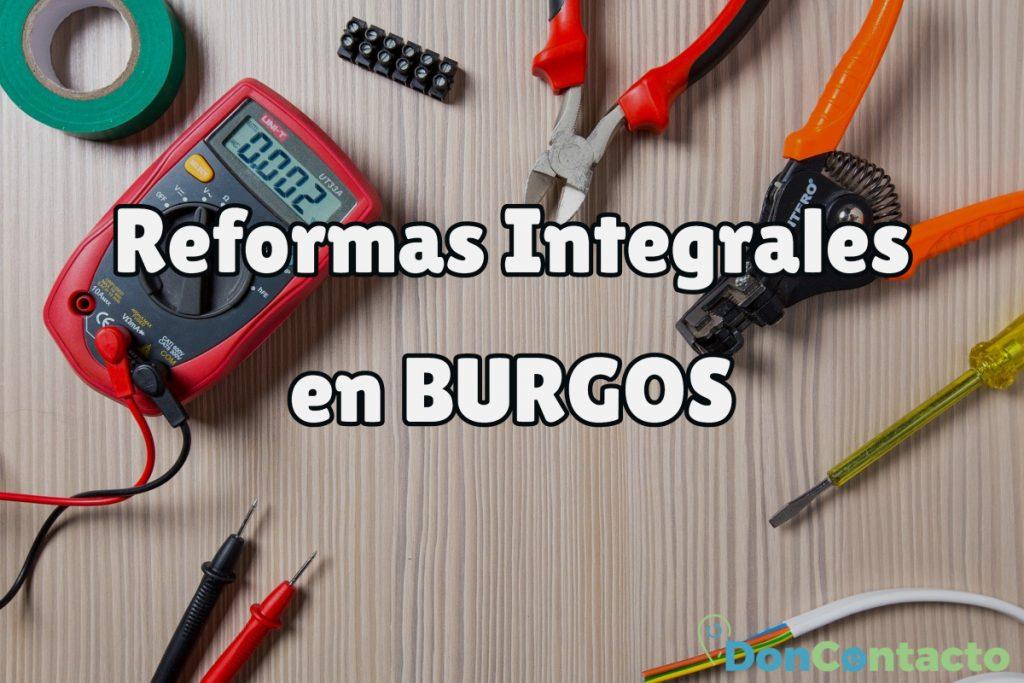 Reformas Integrales en Burgos