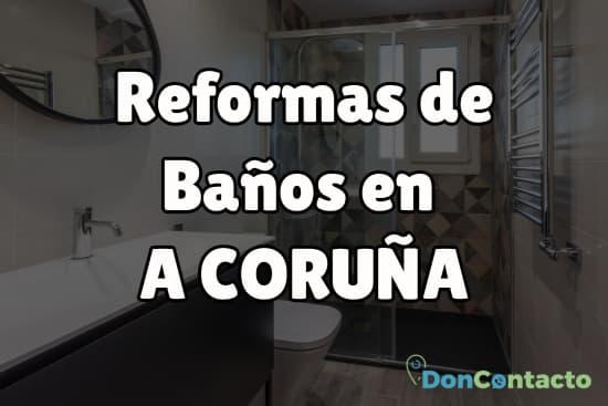 Reformas de Baños en A Coruña