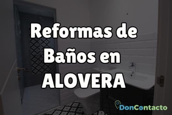 Reformas de baños en Alovera